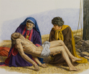 Burial of Jesus - Bill Gregg