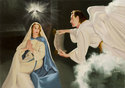 The Annunciation - Peter Darro